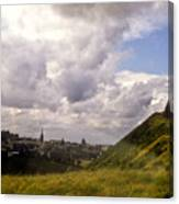 Arthurs Seat Edinburgh Canvas Print