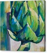 Arti-choke Canvas Print
