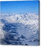 Artic Polar Circle Canvas Print