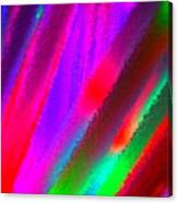 Artificial Rainbow Canvas Print