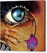 Artificial Tears Canvas Print