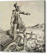 Artillery Caisson Canvas Print