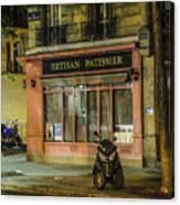 Artisan Patissier Montmartre Paris Canvas Print