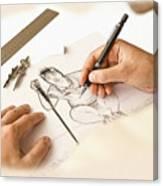 Artist At Work - So Yeon Ryu Part 1 Canvas Print