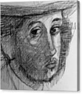 Artist Degas  Canvas Print