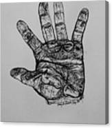 Artist  Hand Variation I Canvas Print