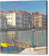 Artist Impression Of Venice Canvas Print