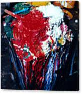 Artist Paint In Bangkok Canvas Print