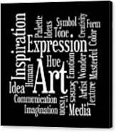 Artistic Inspiration Canvas Print