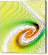 Artistic Spiral Canvas Print