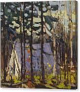 Artist's Camp, Canoe Lake, Algonquin Park Canvas Print