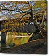 Artist's Covered Bridge Canvas Print