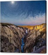 Artist's Point Sunrise Canvas Print