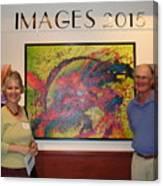 Arts Fest. 2015 - Images Show Canvas Print