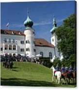 Artstetten Castle In June Canvas Print