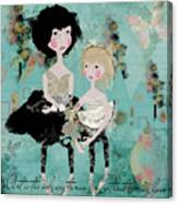 Artsy Girls Canvas Print
