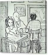 Artwalk At Jax Canvas Print