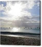 Aruba 2017, 4 Canvas Print