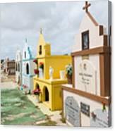 Aruba Cemetery Canvas Print