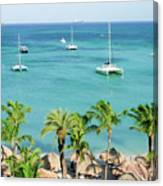 Aruba Shore Canvas Print