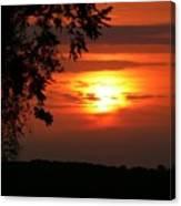As Evening Falls Canvas Print