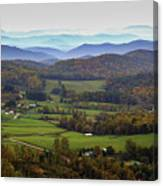 As Far As The Eyes Can See Canvas Print