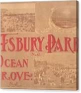 Asbury Park And Ocean Grove Canvas Print