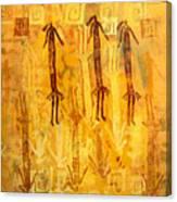 Ascendants And Descendants  Canvas Print