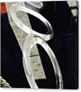 Ascending Rings Canvas Print