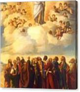Ascension Of Christ Canvas Print