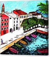 Ascona Imaginario Canvas Print
