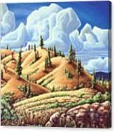 Ashcroft Landscape Canvas Print