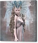 Ashen Queen Of The Mountain 2 Canvas Print