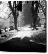 Ashland Cemetery Canvas Print
