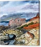 Ashness Bridge. Canvas Print