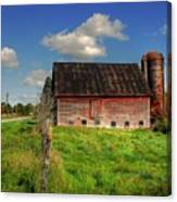 Ashtabula County Barn Canvas Print
