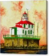 Ashtabula Lighthouse Canvas Print