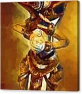 Asian Dragon Man Canvas Print