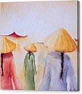 Asian Elegance Canvas Print