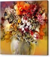 Asian Flowers Canvas Print