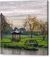 Asian Landscape Canvas Print