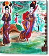 Asian Lovelies Canvas Print