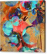 Asian Orchid Abstract Canvas Print