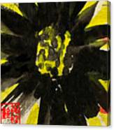 Asian Sunflower Canvas Print