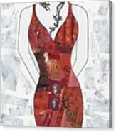 Asian Woman Canvas Print