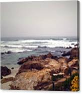 Asilomar Beach Pacific Grove Ca Usa Canvas Print