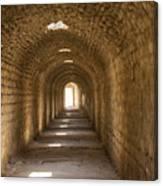 Asklepios Temple Passageway Canvas Print