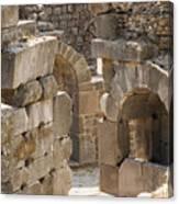 Asklepios Temple Ruins View 3 Canvas Print
