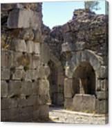 Asklepios Temple Ruins View 4 Canvas Print