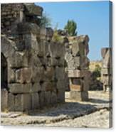 Asklepios Temple Ruins View 5 Canvas Print